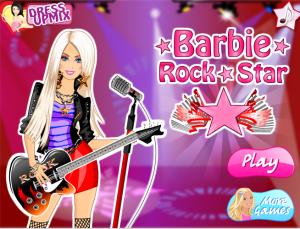 Jogos Barbie Rock Star