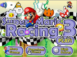 Jogos Super Mario Racing